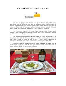 Fromages Francais - Pagina 1