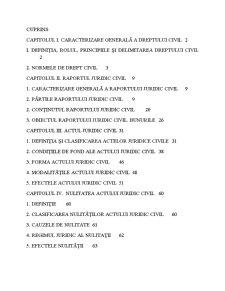 Drept Civil Anul I - Pagina 1