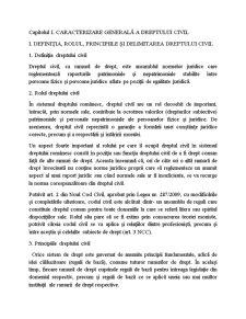 Drept Civil Anul I - Pagina 3