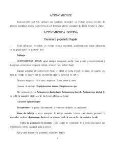Boli Infecțioase - Pagina 1