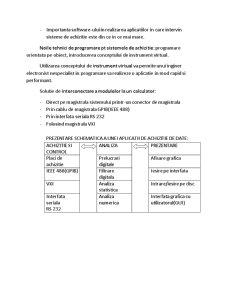 Bazele Sistemelor de Achizitie a Datelor - Pagina 4