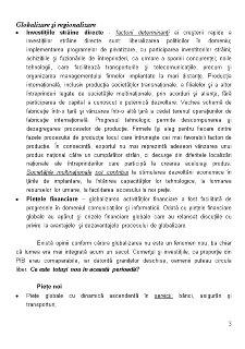 Globalizare și Regionalizare - Pagina 3