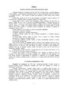 Instituții Financiare Internaționale - Pagina 1