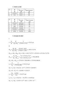 Verificarea pe Cale Experimentala a Metodei de Suprapozitie. Determinarea Conductantelor de Intrare si Celor Mutuale. Trasarea Diagramei Potentiale a Unui Contur Inchis - Pagina 2