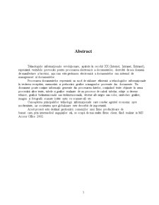 Folosirea MS Access în Gestionarea unei Baze de Date - Pagina 2
