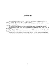 Folosirea MS Access în Gestionarea unei Baze de Date - Pagina 4