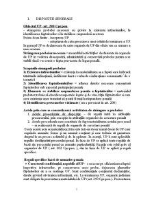 Procedura Penala II - Pagina 1