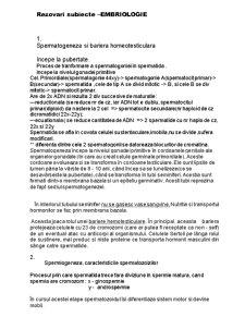 Embriologie - Pagina 1
