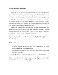 Informatica Juridica si Drept Informatic - Pagina 3