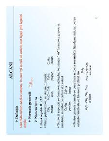 Chimie Organică - Pagina 1