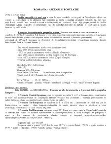 Populatie si Asezari - Pagina 1