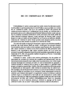 Crima organizata - Pagina 1