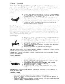 Exercitii de Culturism - Pagina 1