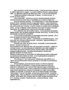 Criminalitatea din Perspectiva Normativului Penal - Pagina 2