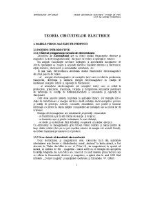 Teoria Circuitelor Electrice - Pagina 1