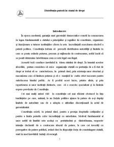 Distribuția Puterii în Statul de Drept - Pagina 3