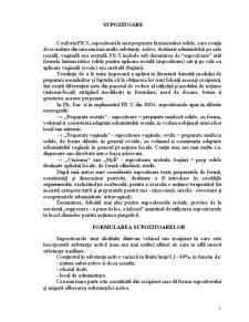 Supozitoare - Pagina 1