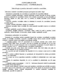 Contabilitate Consolidată - Pagina 1
