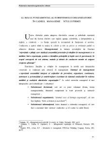 Proiectarea Structurii Organizatorice a Firmei - Pagina 1