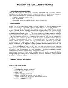 Inginerie de Sistem - Pagina 1
