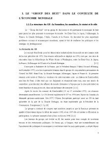 L'Analyse Comparative de L'evolution des Indicateurs Macroeconomiques Dans les Pays G-8 - Pagina 3