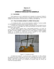 Operații Farmaceutice Generale - Pagina 1