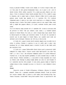 Organizatiile Fundamentalittilor Islamici - Doctrinele, Scopurile, Obiectivele, Actiunile - Pagina 5