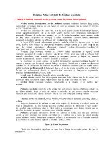 Poluare și Tehnici de Depoluare a Mediului - Pagina 1
