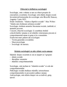 Durkheim și Paretto - Pagina 1