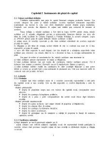 Bazele Functionarii Pietei de Capital - Pagina 5