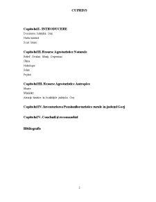 Resursele Agroturistice Naturale și Antropice din Județul Gorj - Pagina 2