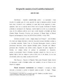 Drepturile omului și teorii - Pagina 1