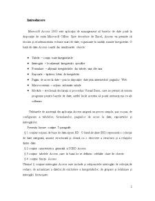 Baze de Date Acces - Pagina 2