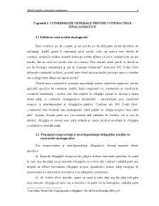 Efectele Specifice Contractelor Sinalagmatice - Pagina 3