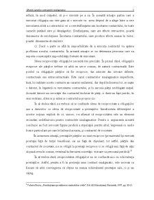 Efectele Specifice Contractelor Sinalagmatice - Pagina 4