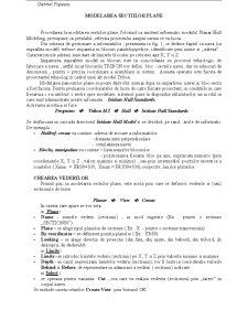 Tribon - Modelarea Sectiilor Plane - Pagina 1