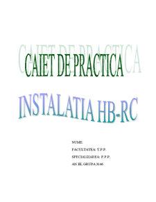 Instalatia HB-RC - Pagina 1