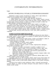 Contabilitate Informatizata - Pagina 1
