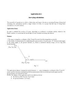 Land Surveying - Surveying Calculus - Pagina 2