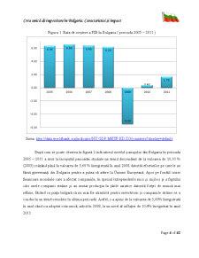 Cota Unica de Impozitare in Bulgaria si Implicatii ale Acesteia - Pagina 5