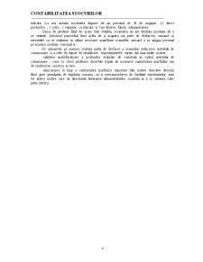 Contabilitatea Stocurilor - Practica de Specialitate in Domeniul Contabilitatii - Pagina 4