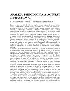 Complexitatea Cauzala a Fenomenului Infractional - Pagina 1