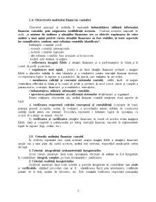 Auditul și Certificarea Situațiilor Financiare Anuale - Pagina 5