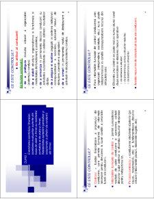 Control și Audit Economico-Financiar - Pagina 1