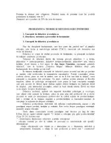 Problematica Teoriei si Metodologiei Instruirii - Pagina 3