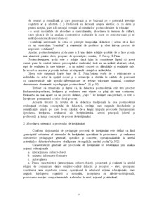 Problematica Teoriei si Metodologiei Instruirii - Pagina 4