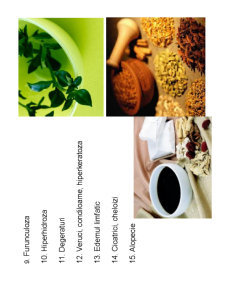Fitoterapia in Afectiuni Cosmetice - Pagina 5