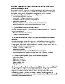 Intrebari Economie - Pagina 2