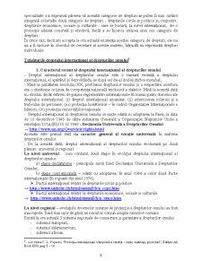 Dreptul Internațional al Drepturilor Omului - Pagina 4
