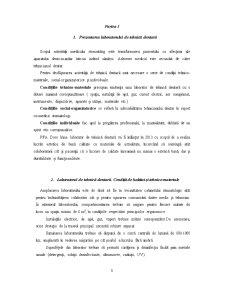 Infiintarea unui Laborator de Tehnica Dentara - Pagina 3